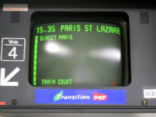 monitor trem paris transporte