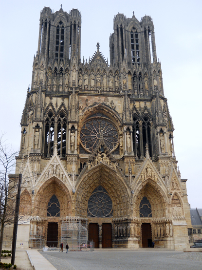 Reims Catedral reis